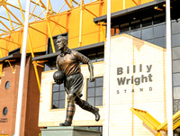 The Billy Wright stand outside Molineux