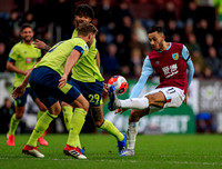Dwight McNeil controls the ball for Burnley